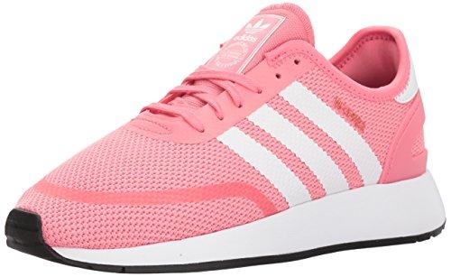 adidas Unisex-Kids N-5923 J Sneaker, Chalk Pink s, Ftwr White, Grey Three Fabric, 5.5 M US Big Kid ()