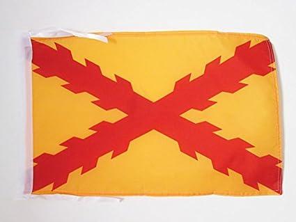AZ FLAG Bandera de ESPAÑA TERCIOS MORADOS Viejos 45x30cm - BANDERINA Ejercito ESPAÑOL 30 x 45