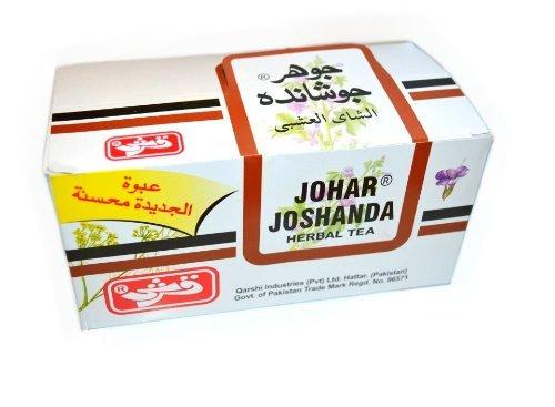 Qarshi Johar Jashanda Herbal Tea Pack Of 30 Sachets