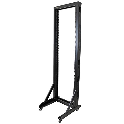 StarTech.com 2-Post Server Rack with Sturdy Steel Construction 2POSTRACK42 by StarTech (Image #1)
