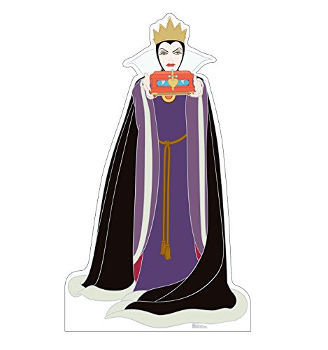 Advanced Graphics Wicked Queen Life Size Cardboard Cutout Standup - Disneys Snow White and the Seven Dwarfs
