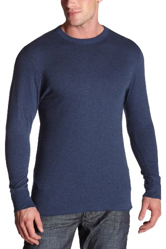 Duofold Originals Men's Midweight Long Sleeve Crew (Medium/Blue-Jean)