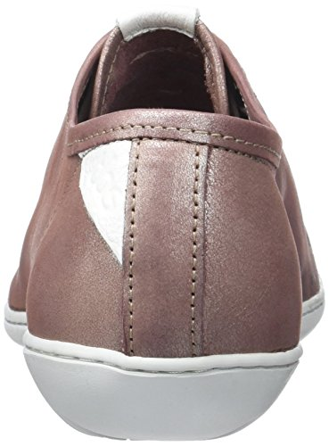 TBS Technisynthese Cerise Z7, Zapatos de Cordones Derby para Mujer Rose (Rosee Metalise)