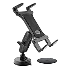 Arkon Heavy Duty Sticky Suction Tablet Mount for Apple iPad Air 2/iPad Air/iPad 4/3/2 Samsung Galaxy Note 10.1/Galaxy Tab Pro 12.2 (TABRM079)