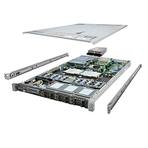Energy-Efficient Dell PowerEdge R610 Server 12-Core 32GB 2x 146GB 2x 300GB (Renewed)