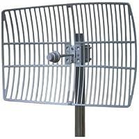 750 MHz Grid parabolic antenna | 12 dBi gain | Verizon LTE 4G upper band
