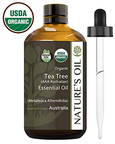 Best Tea Tree Essential Oil Pure Certified Organic Therapeutic Grade 60ml