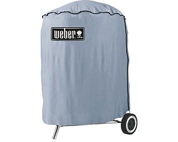 Weber Holzkohlegrill Compact Kettle ø 47 Cm : Weber abdeckhaube standard für bbq cm amazon garten