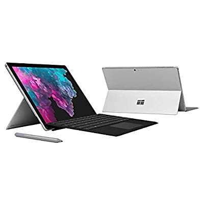Microsoft Surface Pro 6 (Intel Core i5, 8GB RAM, 128GB) Bundle with Black Type Cover and Surface Pro Pen