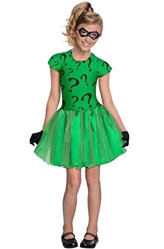 The R (Riddler Costume Girl)