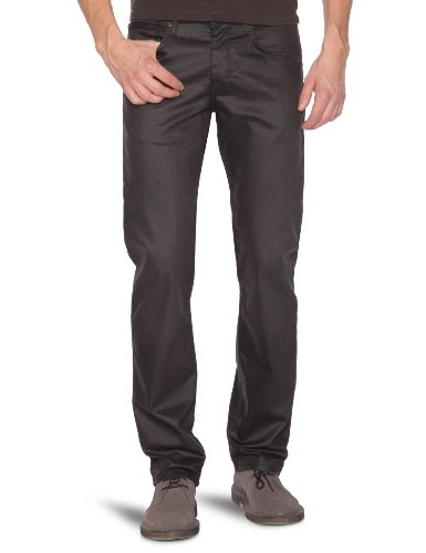 Celio Herren Jeans, Gerade Podart, Noir (Black), W42