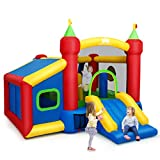 Best Bounce Houses - Costzon Inflatable Bounce House, 7-in-1 Jump and Slide Review