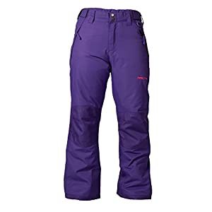 Arctix Youth Snow Pants with Reinforced Knees and Seat, Purple, Small