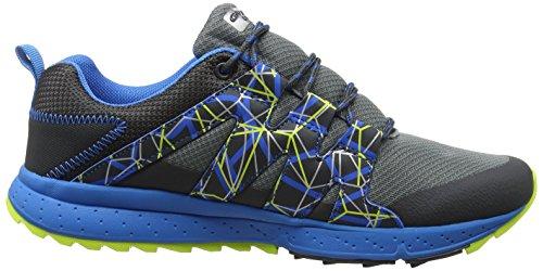 Gola Alberta Tr, Zapatillas de Running para Hombre Gris (Grey/charcoal/blue/volt)