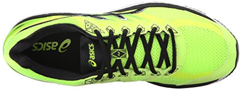 Asics GT-2000 4 del hombre de zapatillas de atletismo Safety Yellow/Onyx/Carbon
