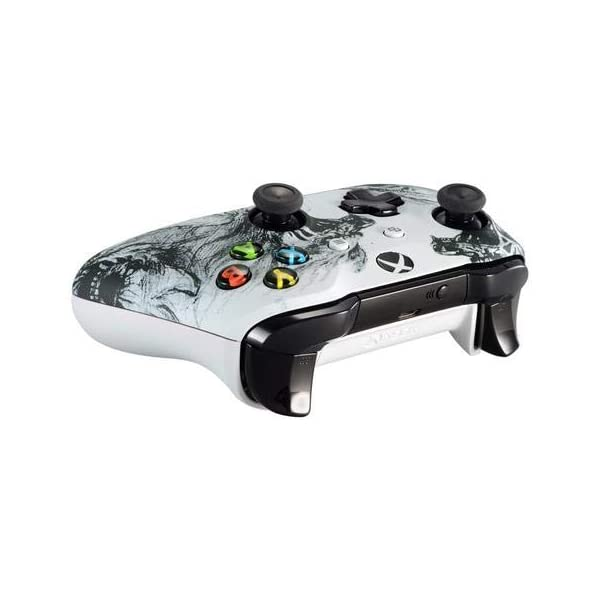 Wolf Spirit Xbox One S/X Rapid Fire Custom Modded Controller 40 Mods for All Major Shooter Games (with 3.5 Jack) 4