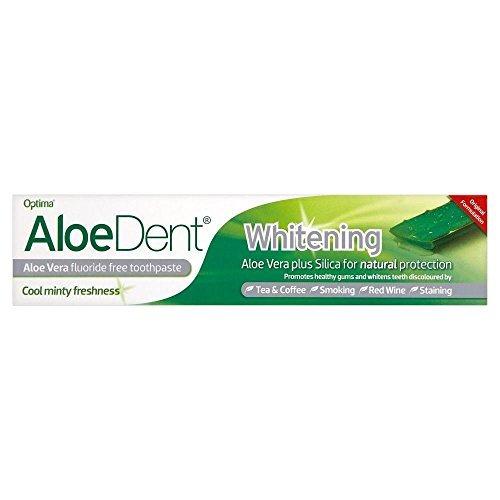 (Optima Aloe Dent Whitening Toothpaste Tube (100ml) - Pack of 6 )