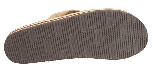 Sandali In Pelle A Doppio Strato Uomo Arcobaleno (disponibili In Vari Colori) Marrone Scuro