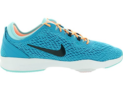 Blue Damen Fit Sneaker Zoom Nike wIXqCxz