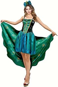 Disfraz Pavo Real para mujer (S): Amazon.es: Juguetes y juegos