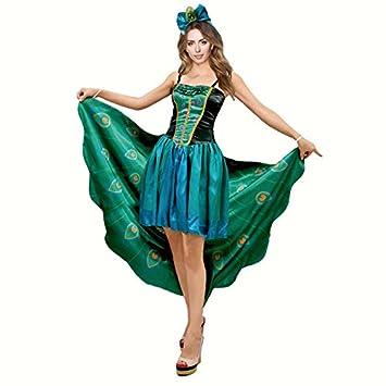 Disfraz Pavo Real para Mujer (M): Amazon.es: Juguetes y juegos