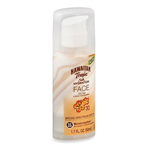 Hawaiian Tropic Silk Hydration Faces Lotion, SPF 30, 1.7 - Center Hawaiian