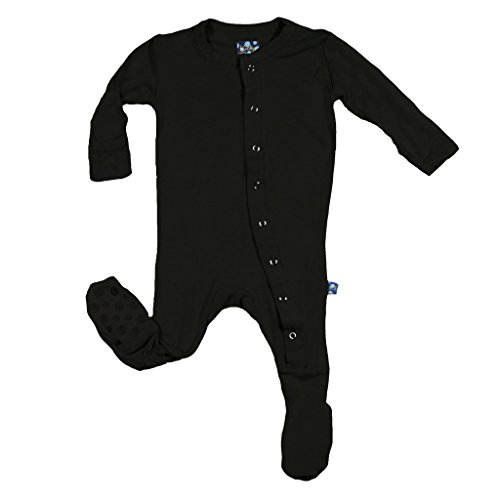 Kickee Pants Basic Pants - Kickee Pants Basic Footie, Midnight (Pre-Sale) (9-12M)