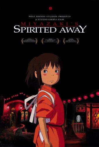 Spirited Away Poster Movie E 11x17 Rumi H?ragi Miyu Irino Takashi Nait? Mari Natsuki