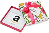 Amazon.com Gift Card in a Floral Box for Mother's Day (Classic White Card Design)