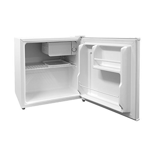 Cookology Table Top Mini Fridge in White, A+ Rated, 46 Litre Refrigerator with Ice Box | Fast Delivery Service [Energy Class A+] MFR45WH