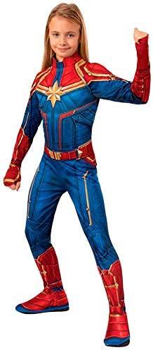 DISBACANAL Disfraz Capitana Marvel para niña - -, 5-7 años ...