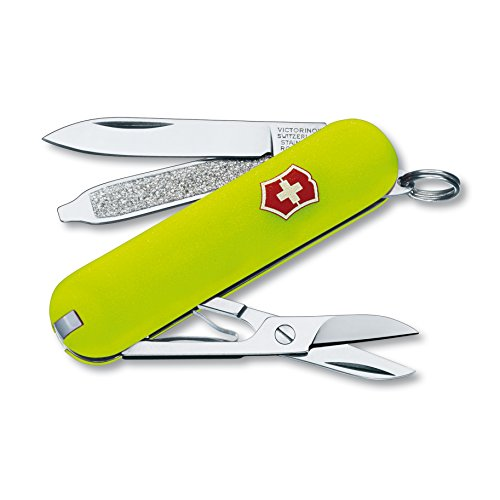- Victorinox Swiss Army Classic SD Pocket Knife, StayGlow
