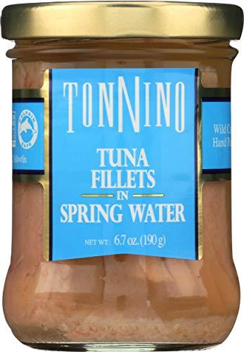 - Tonnino Tuna Fillet in Water, 6.7 oz