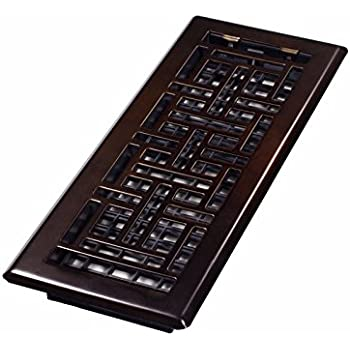 decor grates ajh412rb oriental floor register rubbed bronze 4inch by