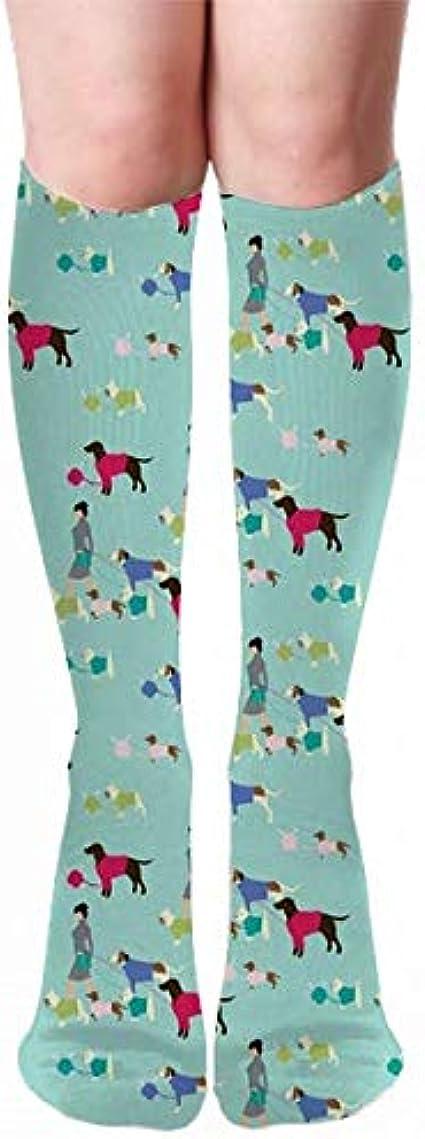 Medlin Calcetines gruesos con tacón de andador para perros, 50 cm para hombres y mujeres, ideales para correr, hacer deporte y viajar