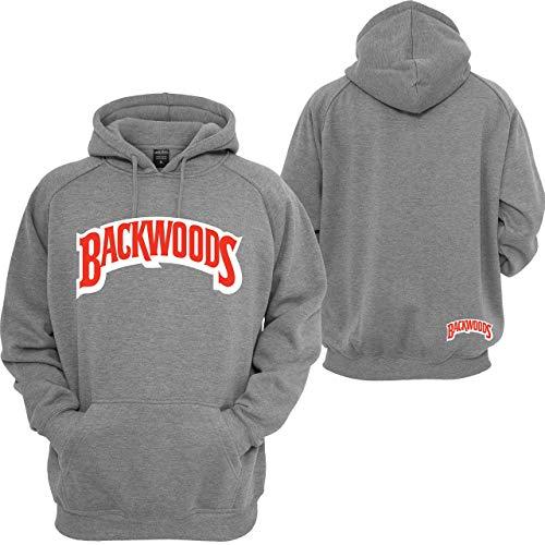 Backwoods Hoodie Cigarrillos Wiz Khalifa Stoner 420 Off Coast Sweatshirt Grey