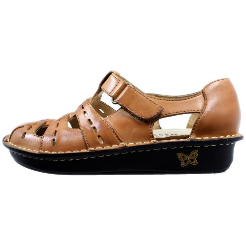 Alegria Mujeres Pesca Cognac Leather Cognac Leather