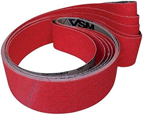 VSM 0007686450120 Schleifgewebeband 50 x 2000 mm Keramik-Körnung 120 für Titan