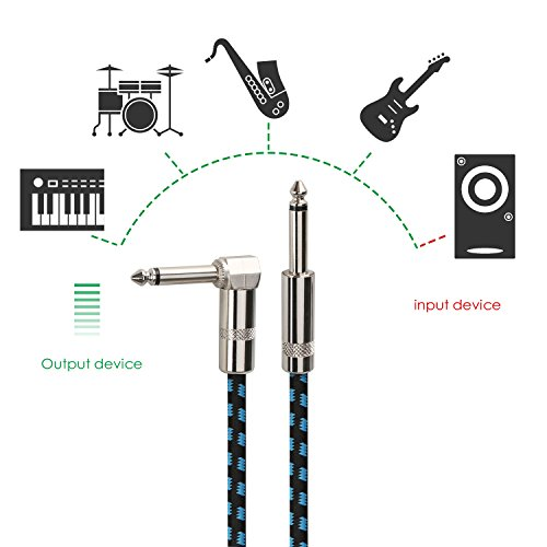 Mugig Guitar Cable for Guitar/Bass Instrument