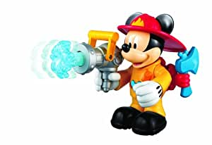 Fisher Price X8518 - Figura de Mickey bombero