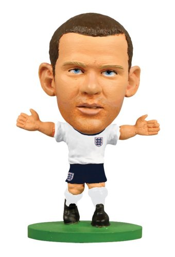 Soccerstarz Starz - England Wayne Rooney Toy Football Figurines Figures - Sports Ltd Subside
