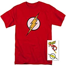 Popfunk The Flash Lightning Bolt Logo T Shirt & Exclusive Stickers