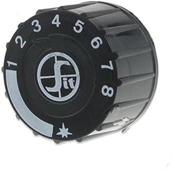 Sit 0.916.124 Válvula de gas SIT 0.916.124 Válvula de gas perilla de Control de termostato para válvulas de la serie mini-sit 710: Amazon.es: Hogar