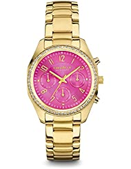 Caravelle New York Womens 44L168 Crystal Chronograph Watch