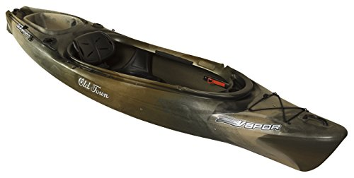 Old Town Canoes & Kayaks Vapor 10 Angler Fishing Kayak, B...