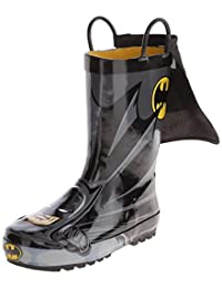 Western Chief Batman Everlasting Rain Boot (Infant/Toddler/Little Kid),Black,1 M US Little Kid