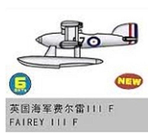 トランペッター 1/350 空母艦載機 アメリカ大戦機 イギリス海軍艦載機 フェアリーIII F プラモデル