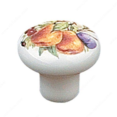 UPC 705354113733, Eclectic Ceramic Knob - 6310, Finish Plum & Pear PRO-PACK 5