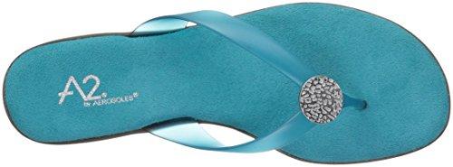 Aerosoles A2 Dames Te Chlose Slipper Turquoise