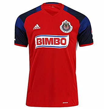 59defaf34 Amazon.com  Chivas de Guadalajara Home Adidas Soccer Jersey Third Kit 2016  Mens Red  Clothing